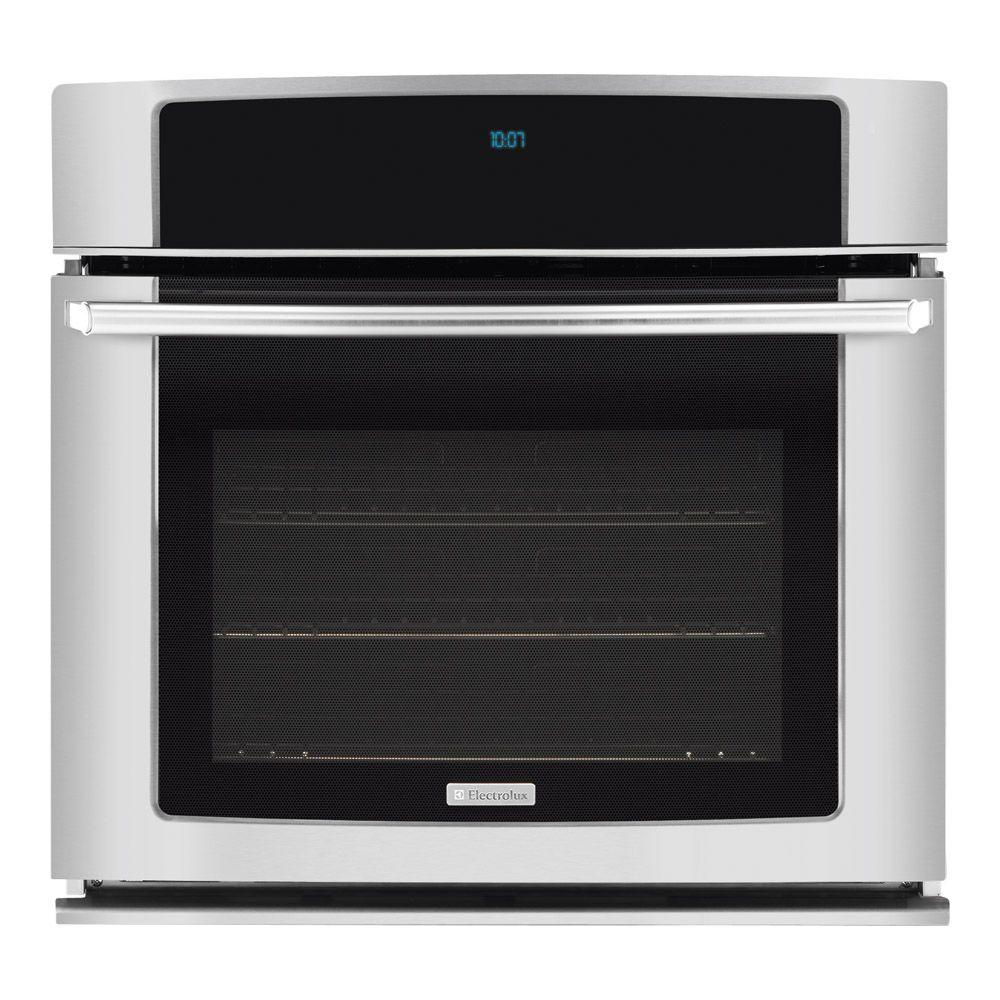 Electrolux 30 in. Single Electric Wall Oven Self-Cleaning with Convection in Stainless Steel-DISCONTINUED