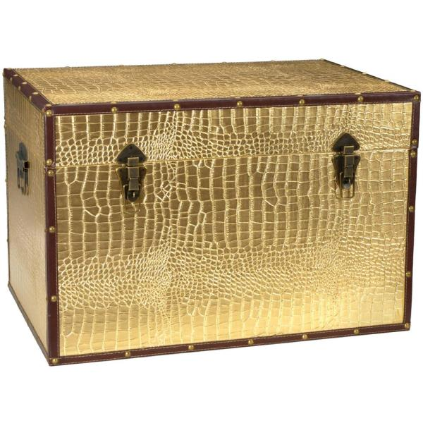 Gold Trunk. By Oriental Furniture