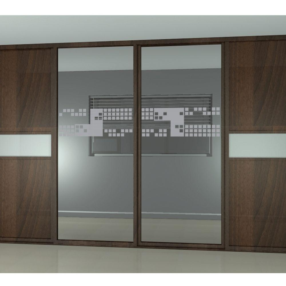 Etched Fx 0012 In X 9 In Glass Mosaic Premium Glass Etch Window
