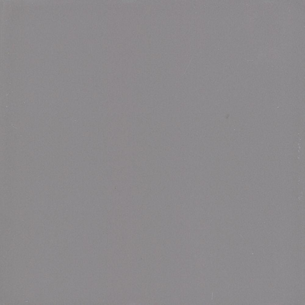 Daltile Semi-Gloss Suede Gray 6 in. x 6 in. Ceramic Wall Tile (12.5 sq. ft. / case)