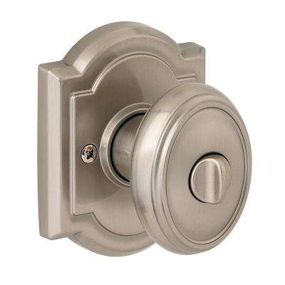 Prestige Carnaby Satin Nickel Bed/Bath Knob