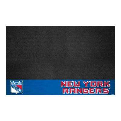 New York Rangers 26 in. x 42 in. Grill Mat