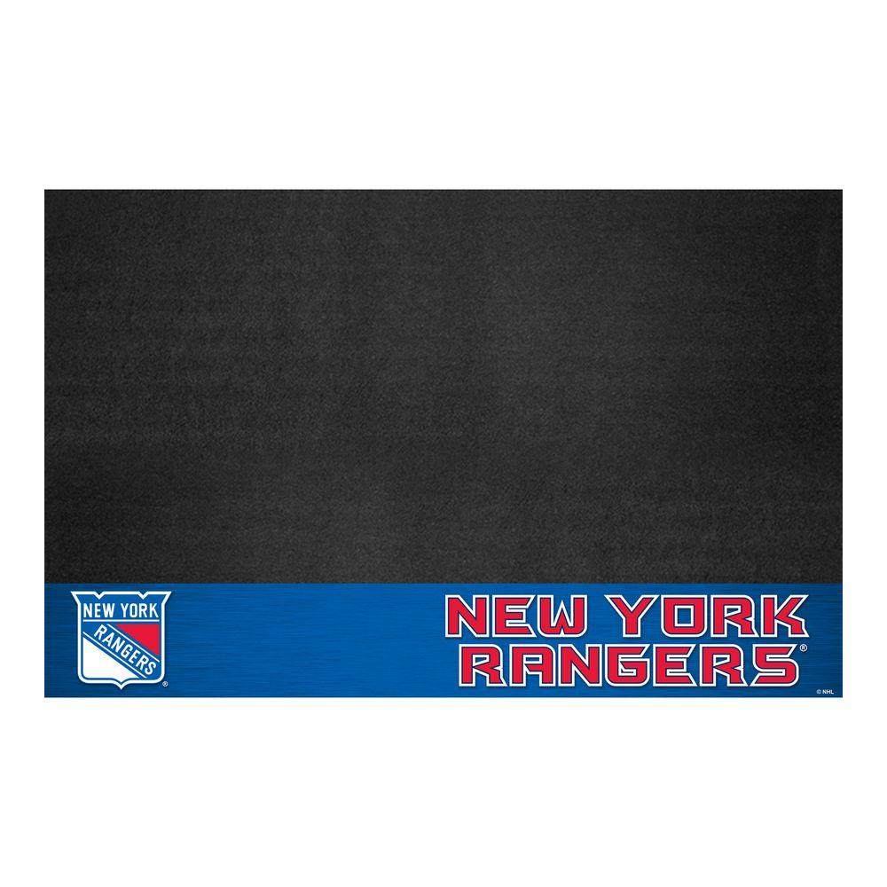 FANMATS New York Rangers 26 in. x 42 in. Grill Mat