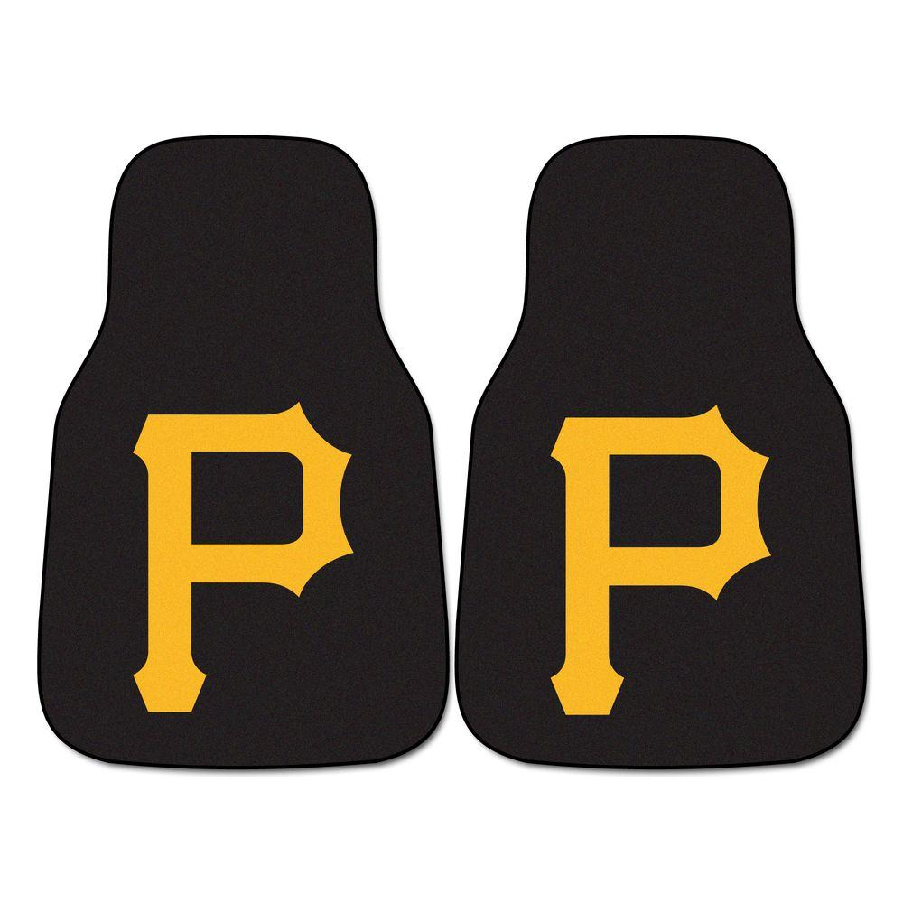 Fanmats Pittsburgh Pirates 18 In X 27 In 2 Piece