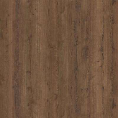 4 ft. x 8 ft. Laminate Sheet in Planked Coffee Oak with Matte Finish