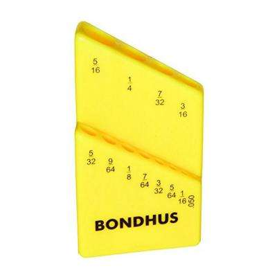 Standard Bondhex Color Coded Case - Holds 12 Tools (10-Pack)