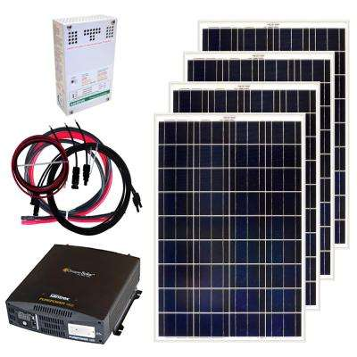 400-Watt Off-Grid Solar Panel Kit