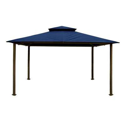 Paragon Gazebo 11 ft. x 14 ft. with Navy Top