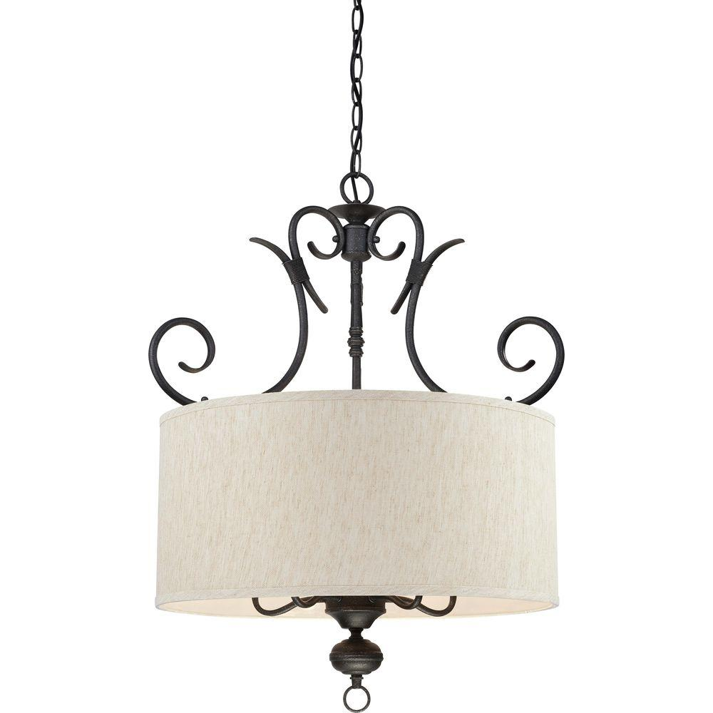 Volume Lighting Fairfield 5-Light Antique Iron Chandelier