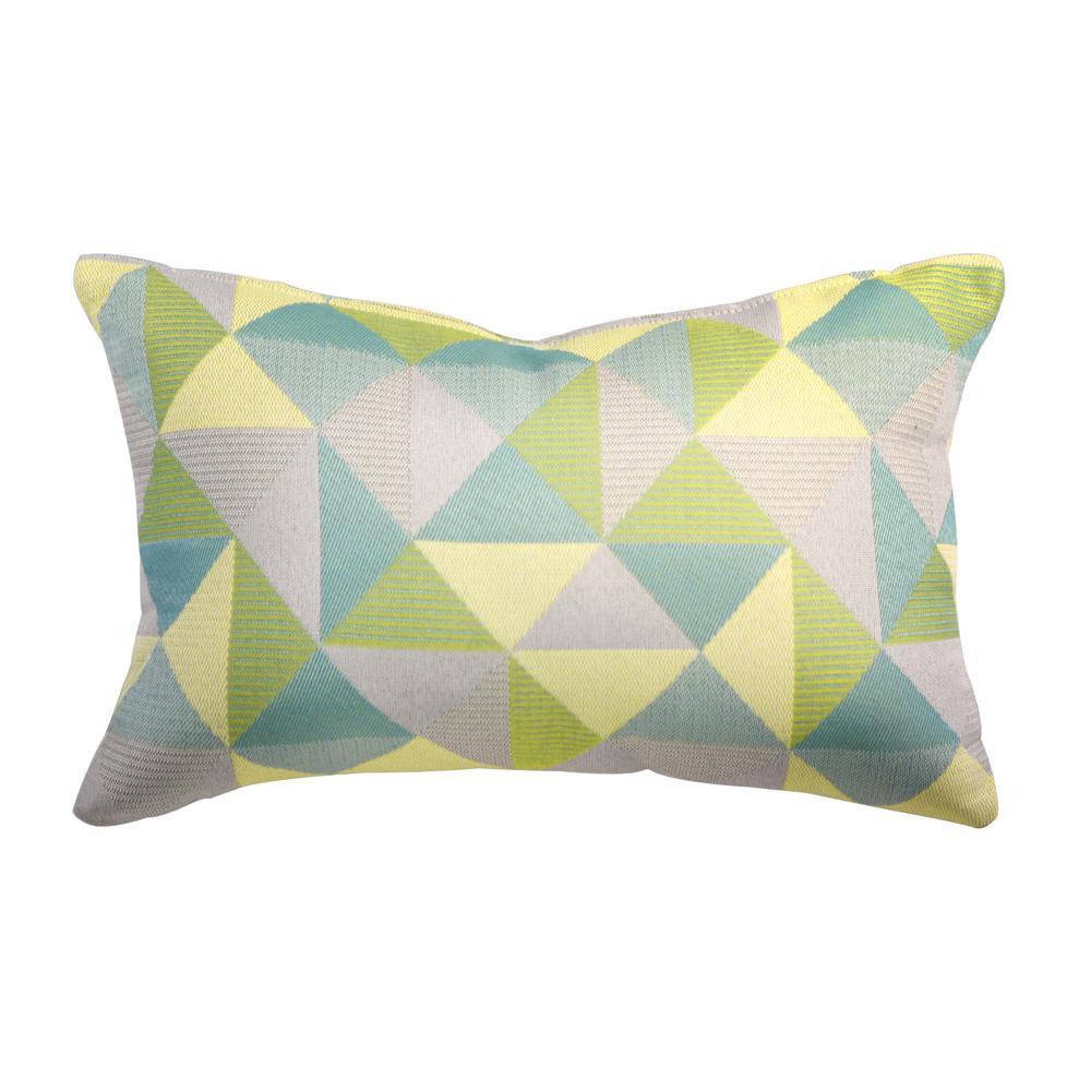 Ruskin Lagoon Lumbar Outdoor Accent Throw Pillow