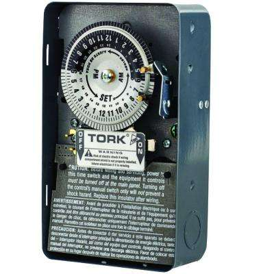 40-Amp 1-Channel 24-Hours Mechanical Time Switch for Same Time Every Day