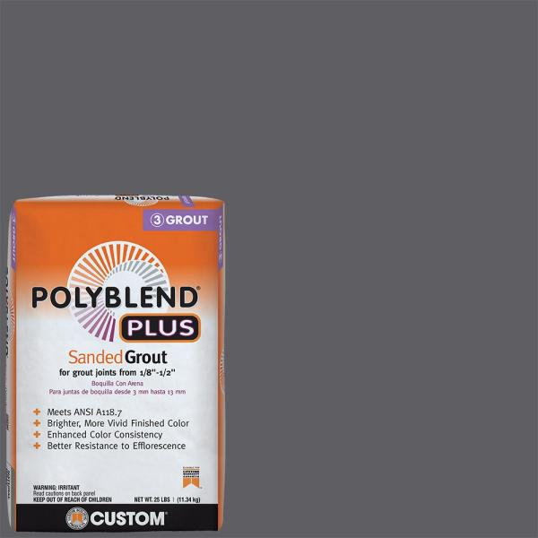 Polyblend Plus #370 Dove Gray 25 lb. Sanded Grout