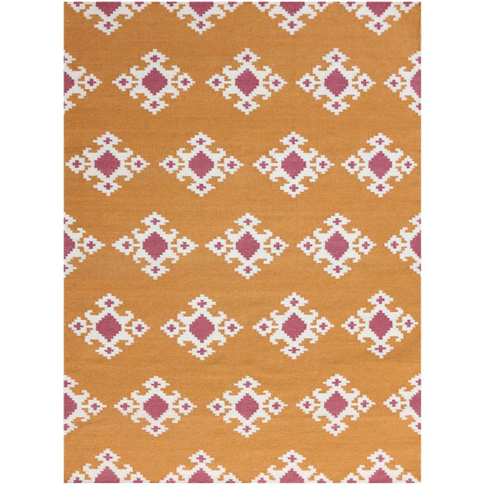 Amer Rugs Zahara Orange 2 Ft X 3 Rectangle Area Rug