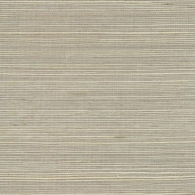 Quing Taupe Sisal Grasscloth Taupe Wallpaper Sample