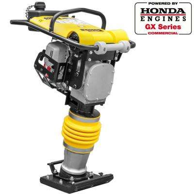 3350 lbs./ft. 3 HP Gas Impact Vibratory Rammer Jumping Jack Plate Compactor Powered By Honda GX100 Engine