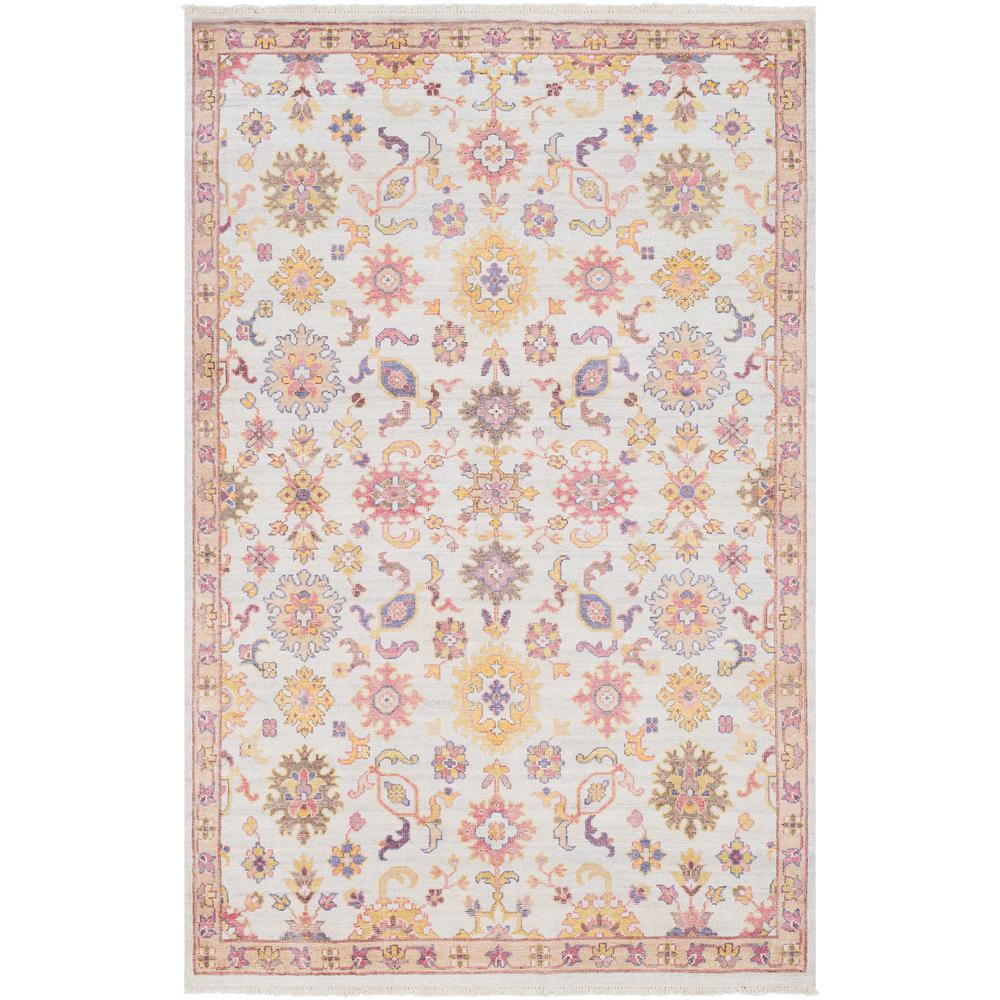 Costen White 9 ft. x 13 ft. Area Rug