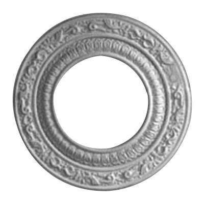 8-1/8 in. O.D. x 4-1/8 in. I.D. x 1/2 in. P Andrea Ceiling Medallion