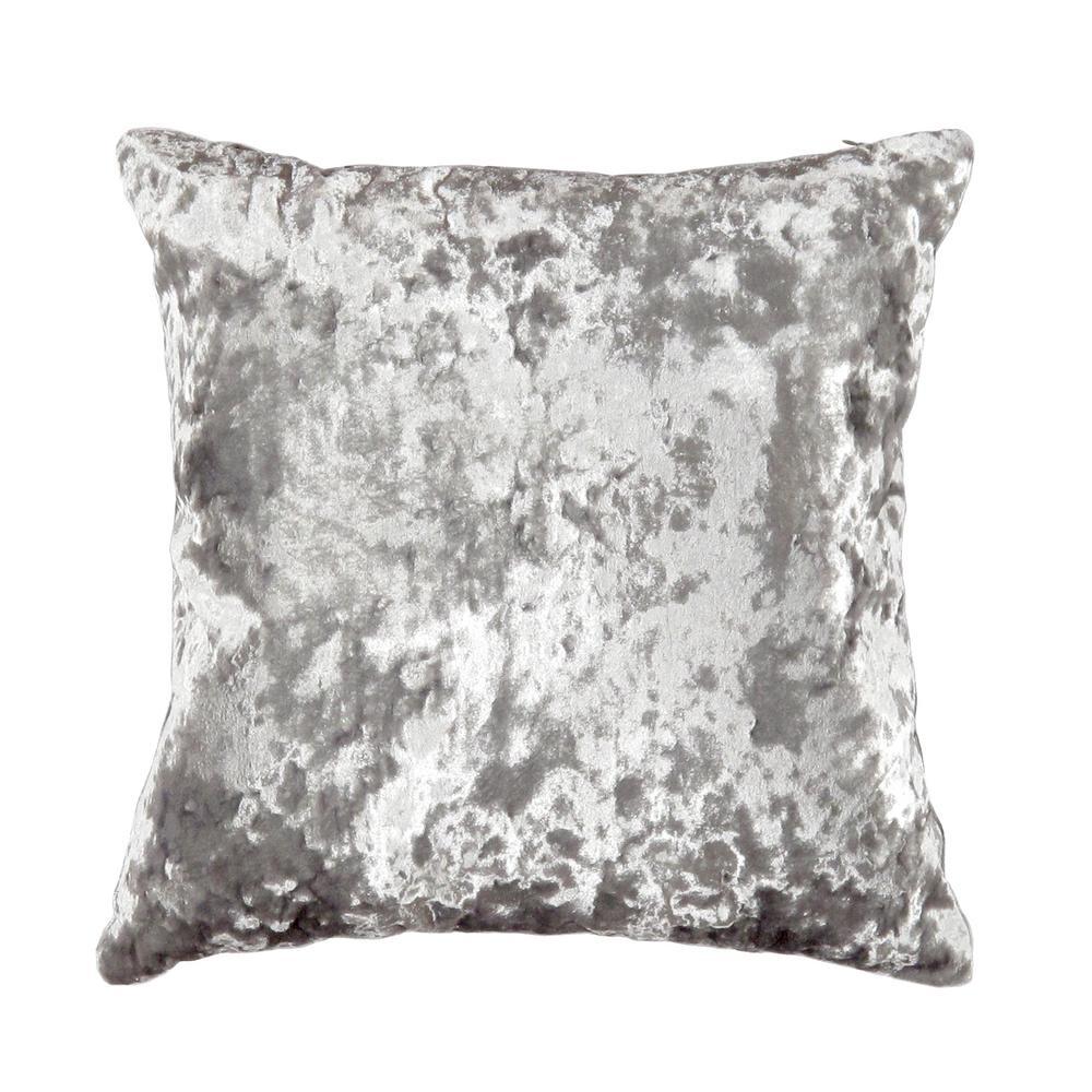 Naples Abstract 17 in. x 17 in. Velvet Pillow
