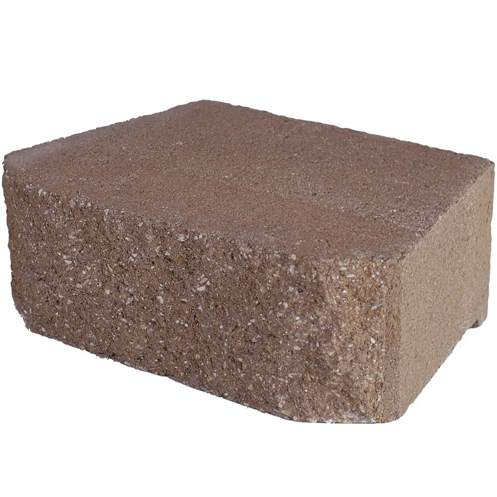 Pavestone 6.75 in. L x 11.63 in. W x 4 in. H Savannah Retaining Wall Block ( 144 Pieces/ 46.6 Sq. ft./ Pallet)