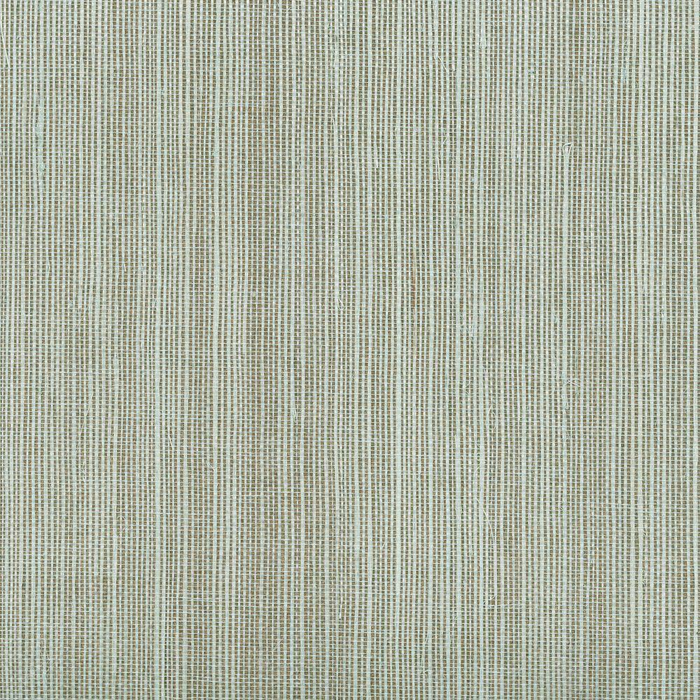 Grasscloth Wallpaper Samples: Kenneth James Barbora Aqua Grasscloth Wallpaper Sample