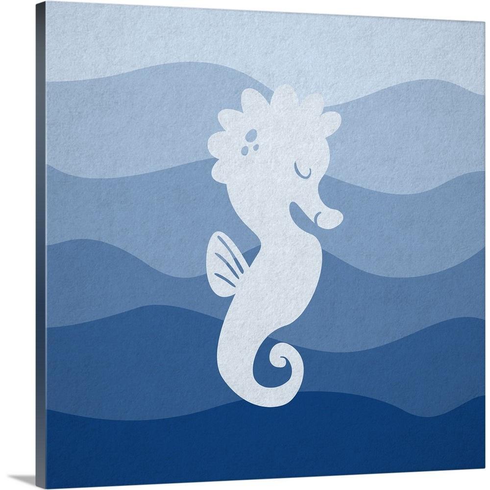 Greatcanvas Seahorse Underwater Nursery By Circle