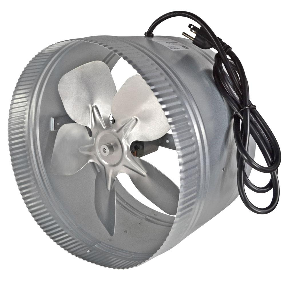 12 in. Corded In-Line Duct Fan
