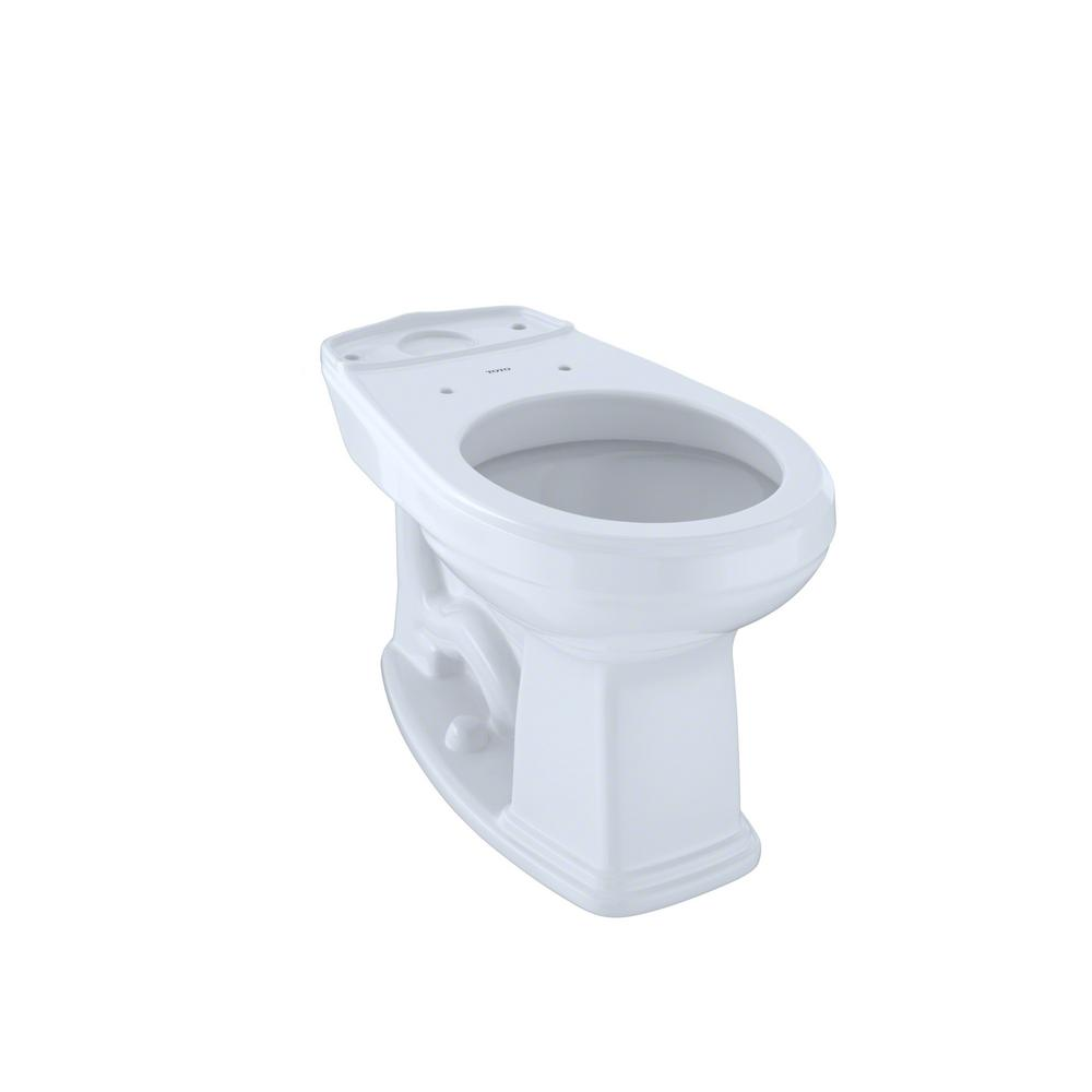 TOTO Promenade Round Toilet Bowl Only in Cotton White-C423EF#01 ...