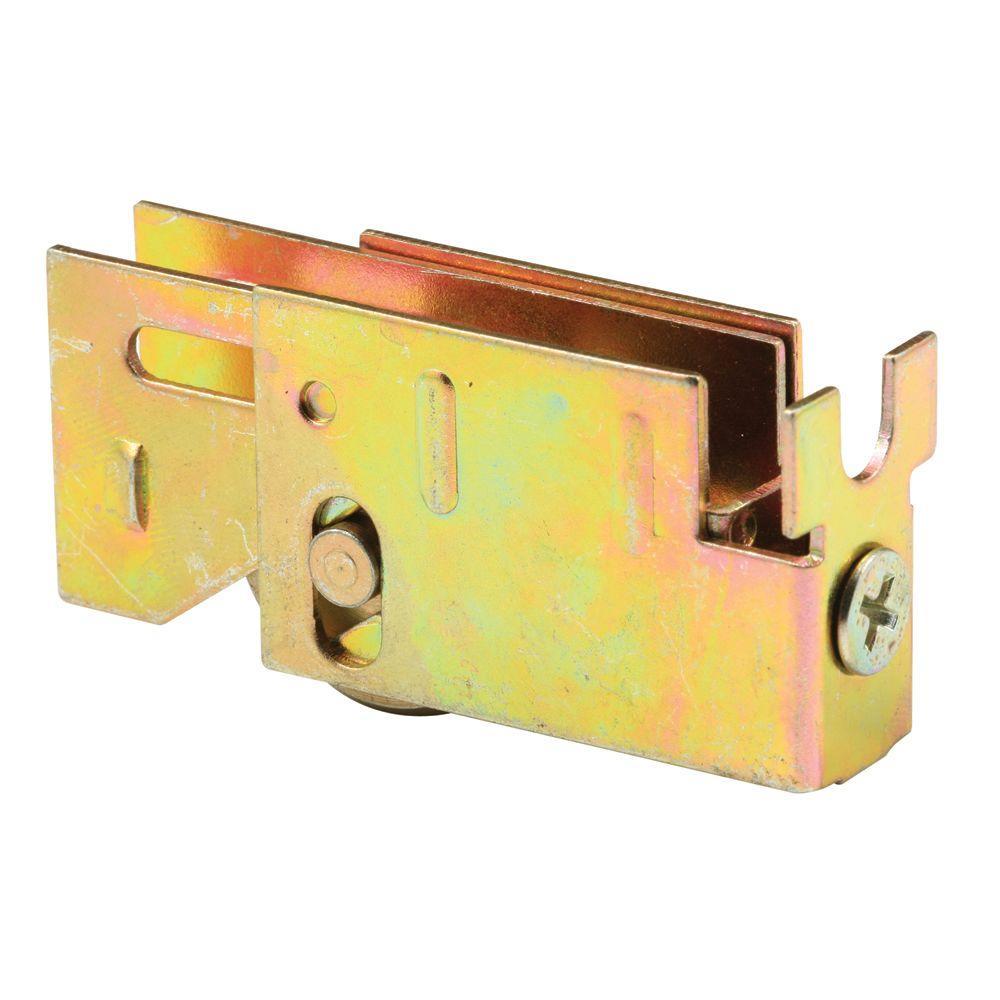 Prime-Line Sliding Door Roller Assembly, 1 in. Flat Steel Ball Bearing