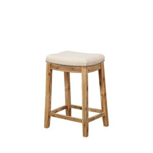 Strange Linon Home Decor Claridge Brown Acacia 24 In Counter Stool Gmtry Best Dining Table And Chair Ideas Images Gmtryco