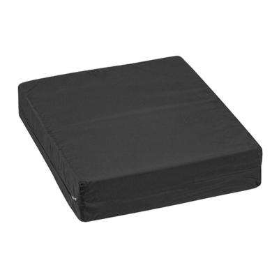 16 in. x 18 in. x 4 in. Pincore Cushion with Nylon Oxford Cover in Black
