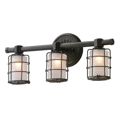 Mercantile 3-Light Vintage Bronze Vanity Light