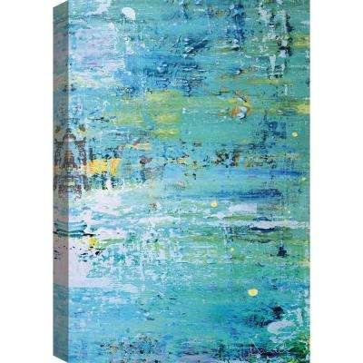 Aquamarine Canvas Print by ArtMaison Canada