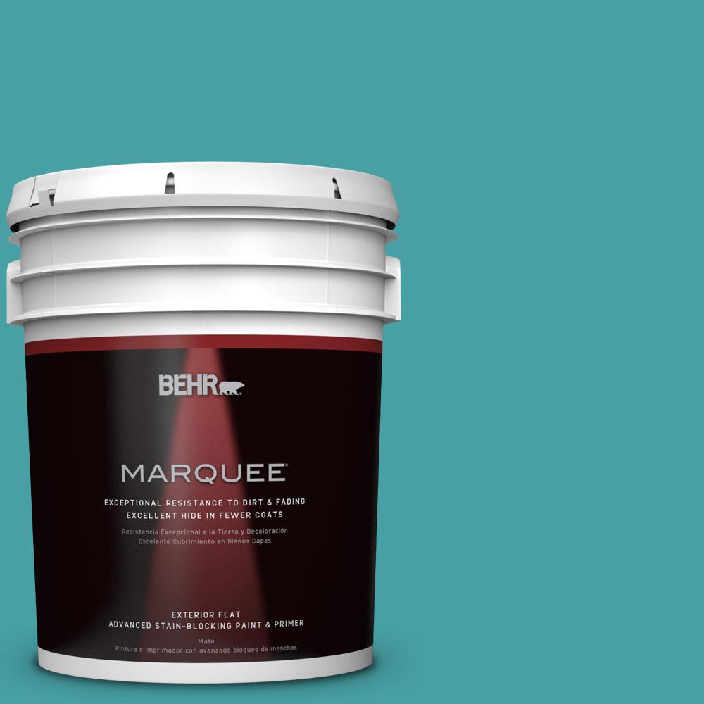 5-gal. #M460-5 Aqua Fresco Flat Exterior Paint