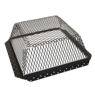 16 in. x 16 in. Roof Vent Cover in Black