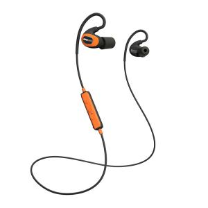 PRO Bluetooth Hearing Protection Earbuds, 27 dB Noise Reduction Rating, OSHA Compliant Ear Protection for Work (Orange)