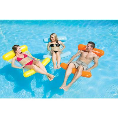 Vinyl Water Hammock Swimming Pool Float