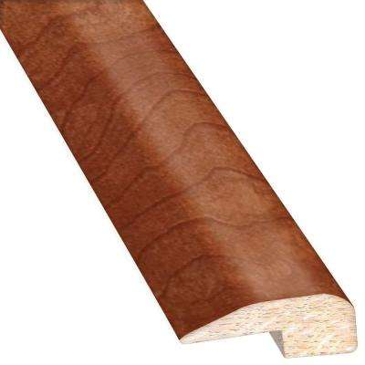 Birch American Tandooi 0.88 in. Thick x 2 in. Wide x 78 in. Length Hardwood Carpet Reducer/Baby T-Molding