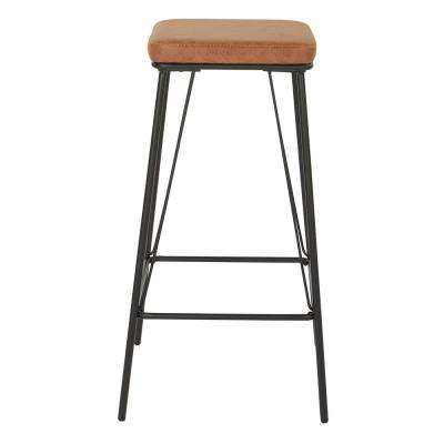 Mayson 30 in. Sand with Gunmetal Base Barstool (2 per Carton)