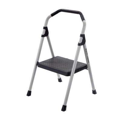 1-Step Lightweight Steel Step Stool Ladder with 225 lb. Load Capacity Type II Duty Rating
