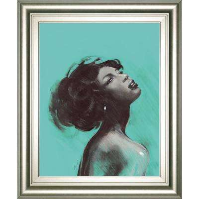 "22 in. x 26 in. ""Melody II"" by Saro"" Framed Printed Wall Art"