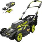 20 in. 40-Volt Brushless Lithium-Ion Cordless Smart TREK Self-Propelled Walk Behind Mower w/6.0 Ah Battery and Charger