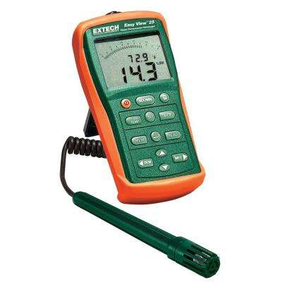Hygro-Thermometer and Data Logger