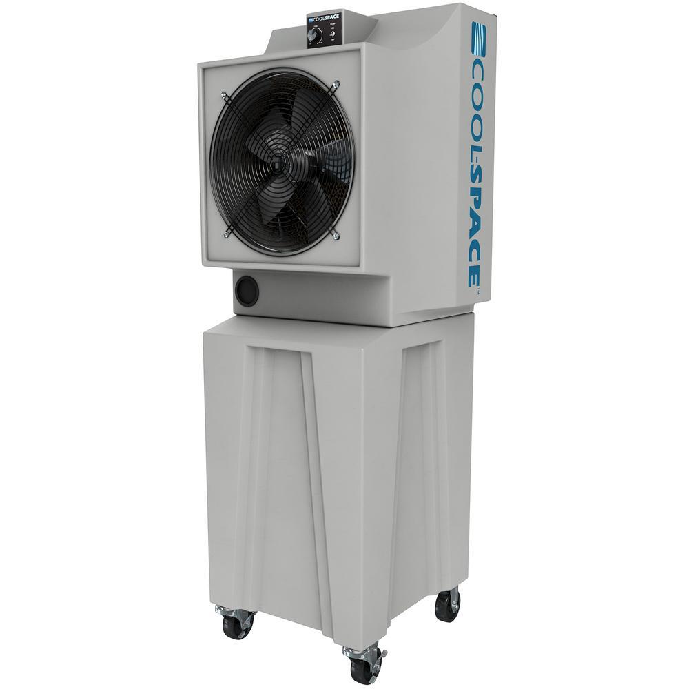 Glacier18TB 2825 CFM 12-Speed Portable Evaporative Cooler for 1200 sq. ft.