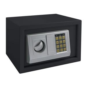 Steel Small Home Safe With Electronic Lock Black
