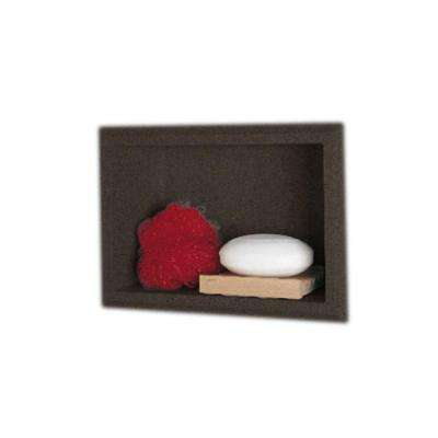 4-1/8 in. x 7-1/2 in. x 10-3/4 in. Recessed Accessory Shelf in Canyon