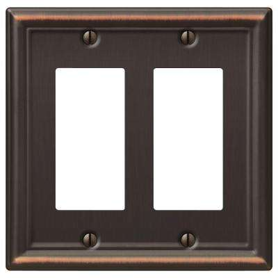 Chelsea 2 Decora Wall Plate - Oil-Rubbed Bronze