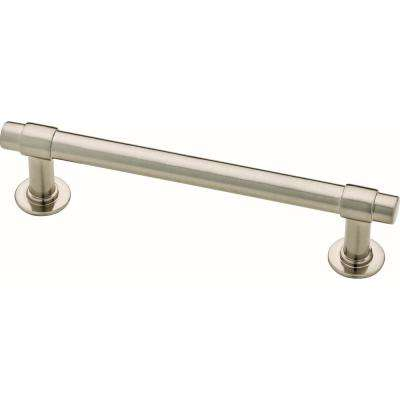 Essentials Francisco 4 in. (102mm) Center-to-Center Satin Nickel Drawer Pull (10-Pack)