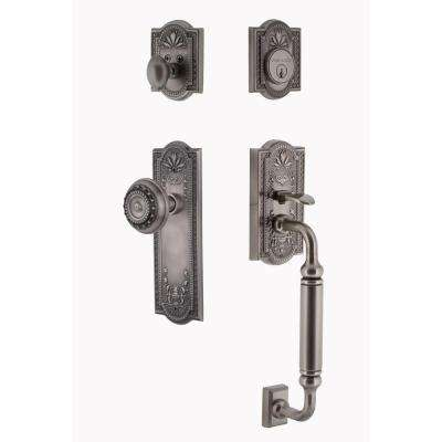 Solid Brass - Pewter - Door Handlesets - Door Hardware - The Home Depot