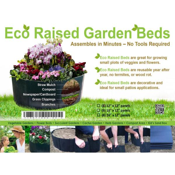 Unbranded Eco Raised Garden Beds Ecobed The Home Depot