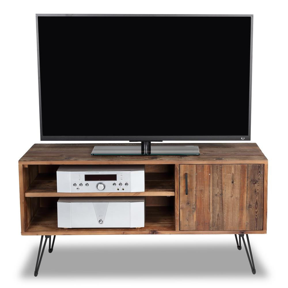 bell 39 o bayport tv stand for 55 in tvs in spanish gray tc48 6092 pi14 the home depot. Black Bedroom Furniture Sets. Home Design Ideas